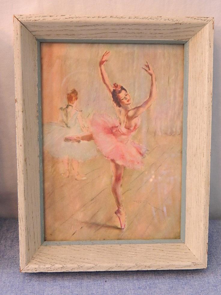 Pal Fried Vintage Ballerina Prints Vintage Vintage