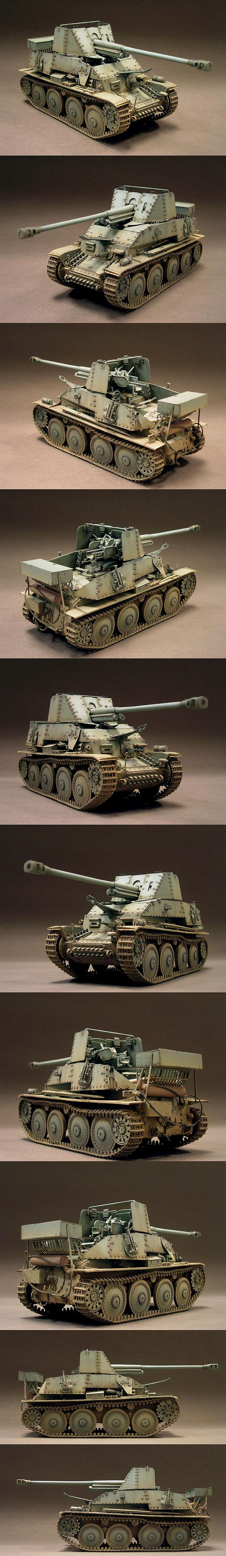 Marder III 1/35 Scale Model