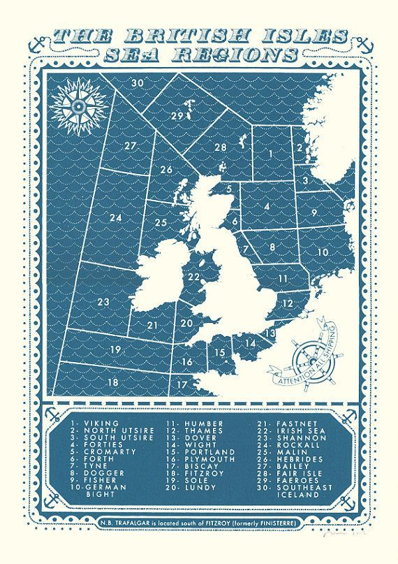 Cute Image result for uk shipping forecast poster