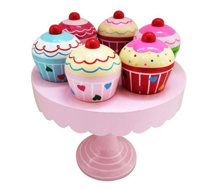ImageToys, muffins på kagefad