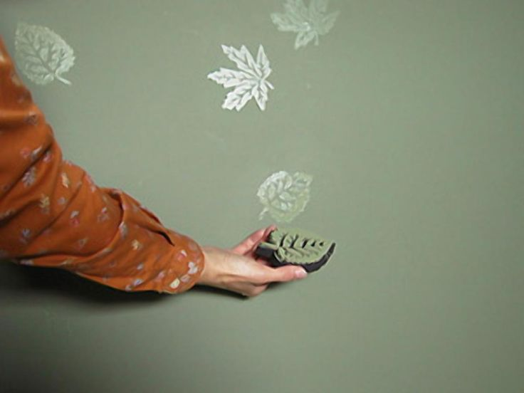 A color-on-color effect can be created in various ways, each producing a different look. These techniques require two wall paints -- satin and semi-gloss finishes -- in the same color.