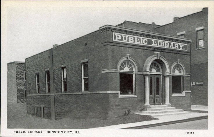 Johnston City Public Library, Johnston City, IL ... 1927 ... - photo#19