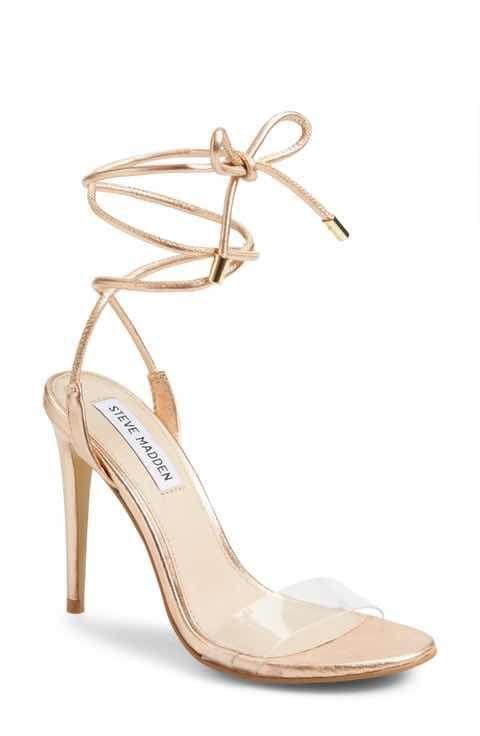 4145beecd2a Steve Madden Lyla Wraparound Sandal - rose gold  StilettoHeels ...