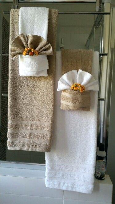 Creative Ways To Display Towels Hanging Bathroom
