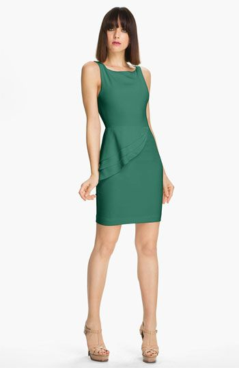Alice + Olivia Side Peplum Dress available at #Nordstrom