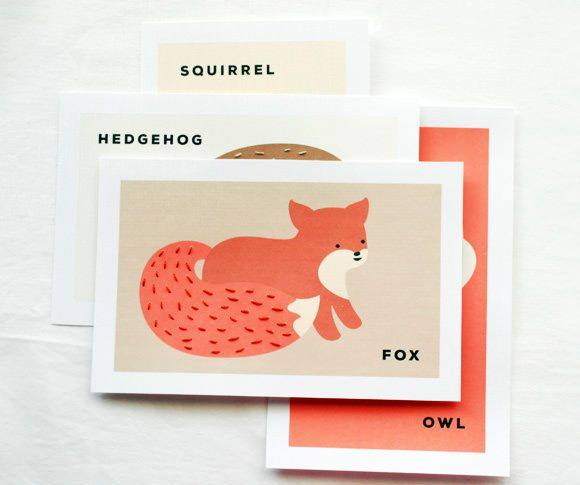 Printable Animal Sewing Cards ForKids