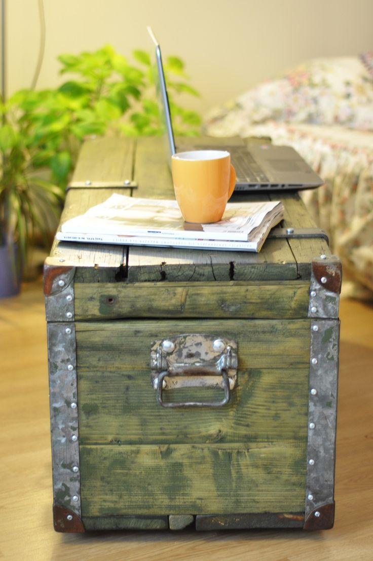 Rustykalna skrzynia / kufer