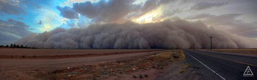 awesome Amazing Weather photos - TPN_2011 Dust Storm July 5 hdr #Weather #Images