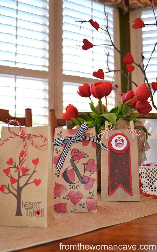 Valentine Goodie Bags for Him