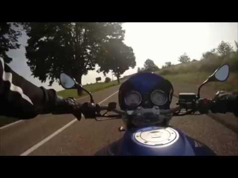 La joie de rouler à moto, tout simplement