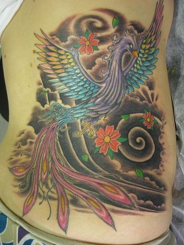 tatuagens de ave fênix