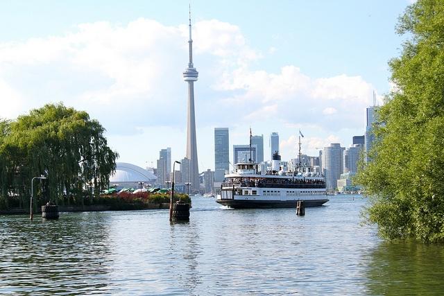 at Toronto Island
