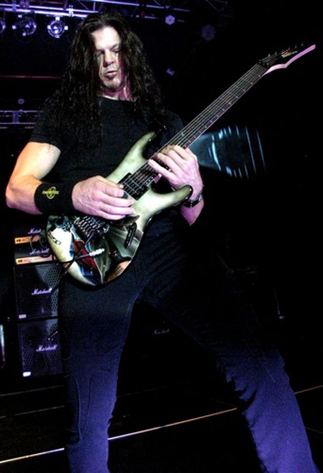 Megadeth Concert Photos: Megadeth Guitarist Chris Broderick