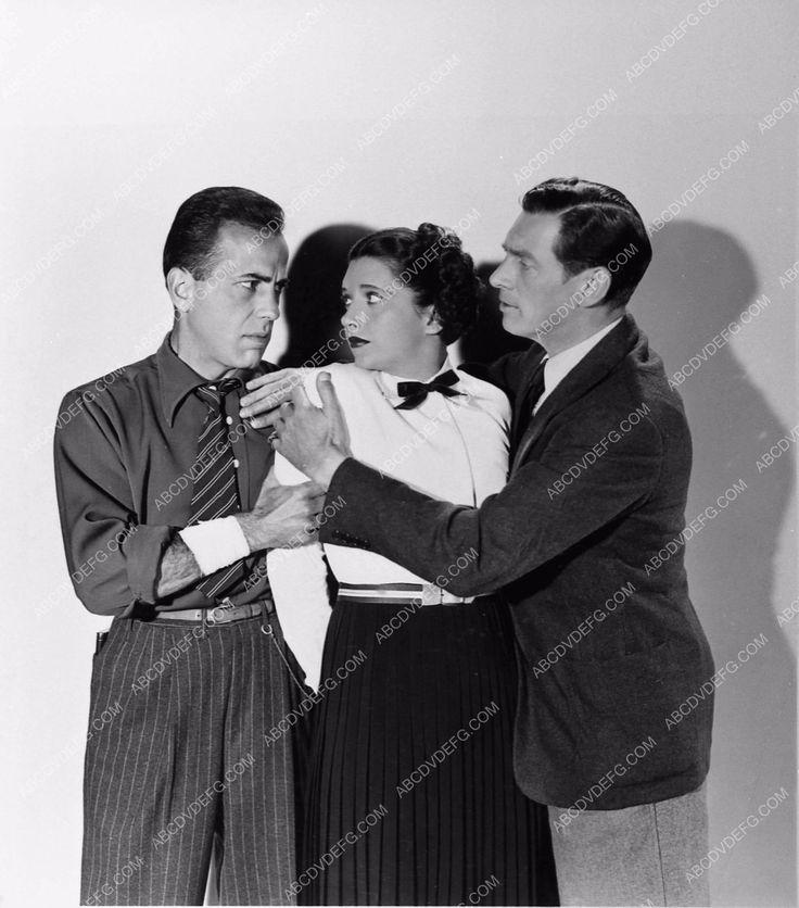 photo Humphrey Bogart Kay Francis James Stephenson King of the Underworld 73-15