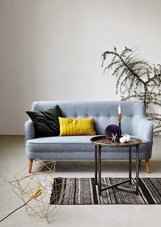 House Doctor gray sofa