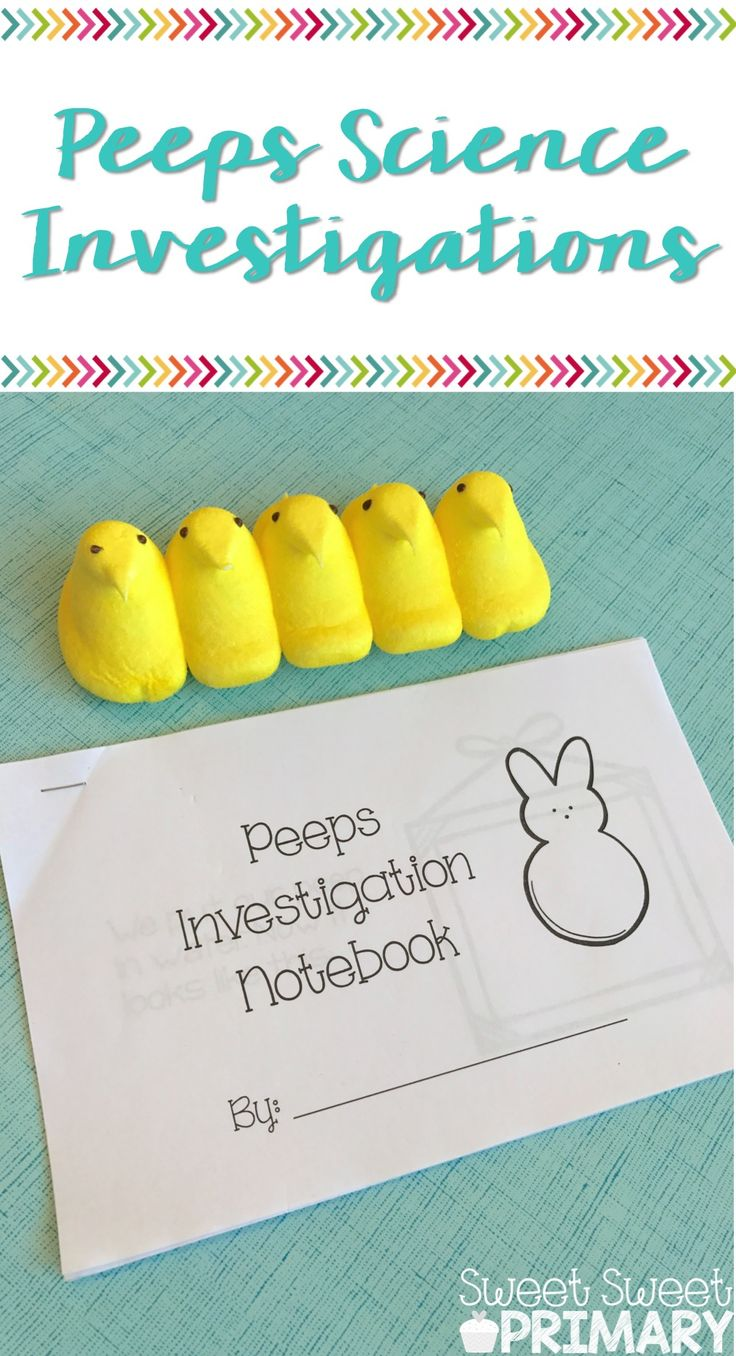 What a great way to get kids writing about science! And who doesn't love Peeps? These Peeps science experiments are perfect for Easter time.
