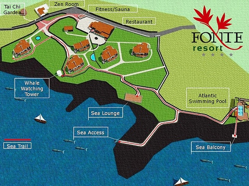 Mapa do Resort | Resort Map