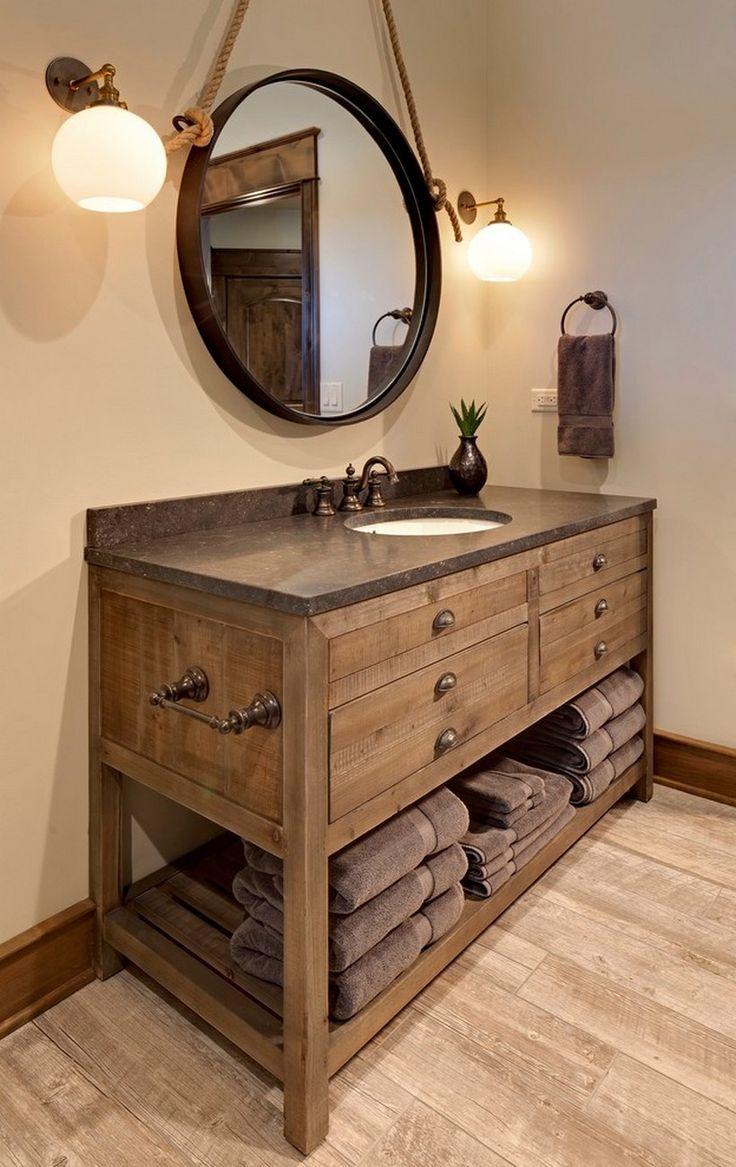 Modern Rustic Bathroom Vanity Ideas And Designs Crafts Rustic Bathroom Vanities Rustic