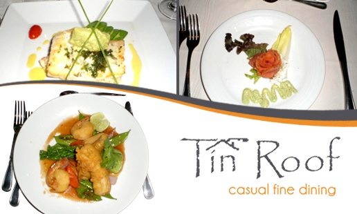 Tin Roof -- Deal: Buy one regular priced entree, get one free.