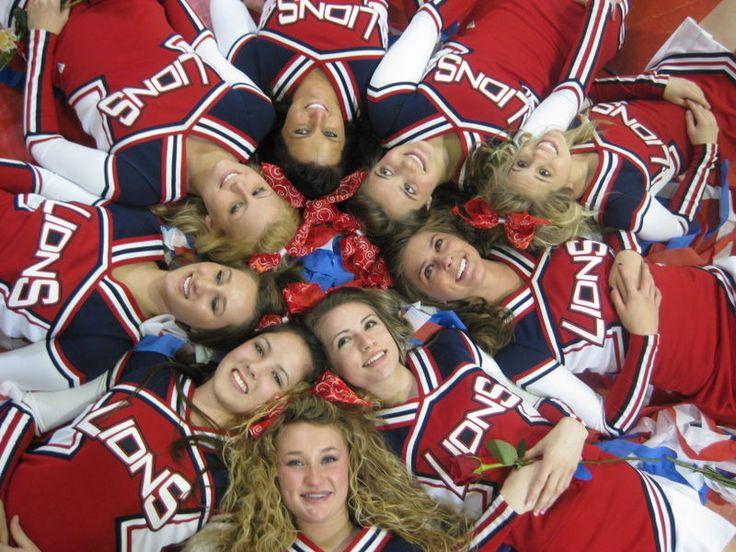 Cute cheer picture! Seniors! @Carla Blalock @Taryn Loper @Bria Herring