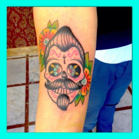35 best images about tatouage cr ne mexicain on pinterest. Black Bedroom Furniture Sets. Home Design Ideas