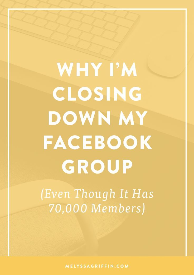 A little less than two years ago, I created a free Facebook group called Online Business BFFs (formerly Blog + Biz BFFs). When I originally created this group, my life and business were virtually unrecognizable from what they are now. I was wrapping up my former business as a web designer, had just launched my …
