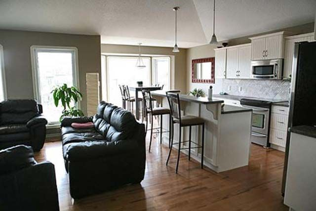small kitchen and living room combo   Karleb Homes Ltd   Completed Homes  for Sale in Drayton Valley   My Kitchen   Pinterest   Room kitchen  Kitchen  dining. small kitchen and living room combo   Karleb Homes Ltd   Completed