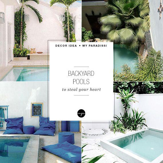 10 achtertuin zwembaden om je hart te stelen