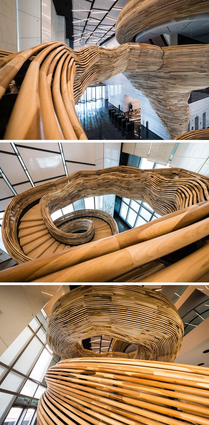 Best An Amazingly Sculptural Spiral Staircase Has Been 640 x 480