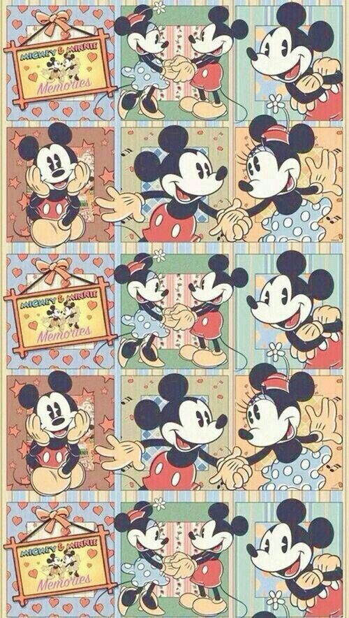 Mickey Mouse Disney Phone WallpaperKawaii WallpaperVintage