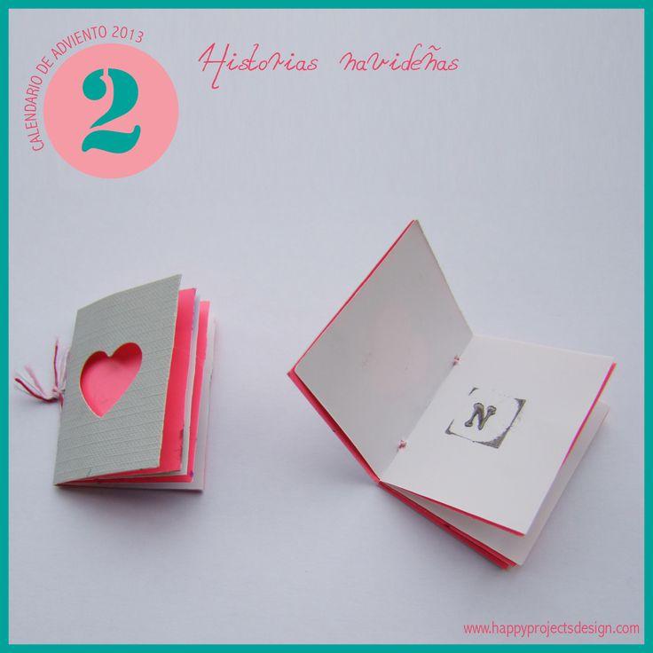 #CalendarioAdviento 2013 by www.happyprojectsdesign.com  DIA 2: historias navideñas
