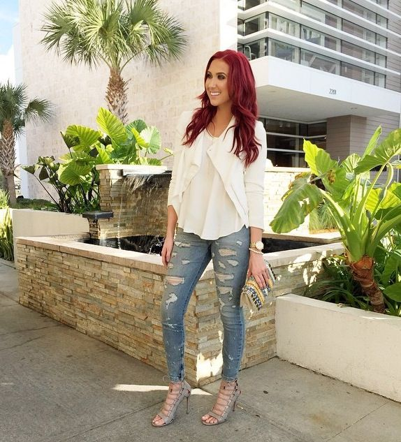 Jaclyn Hill - cute outfit