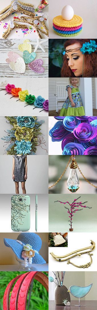 Put A Spring In Your Step by Melissa on Etsy--Pinned with TreasuryPin.com