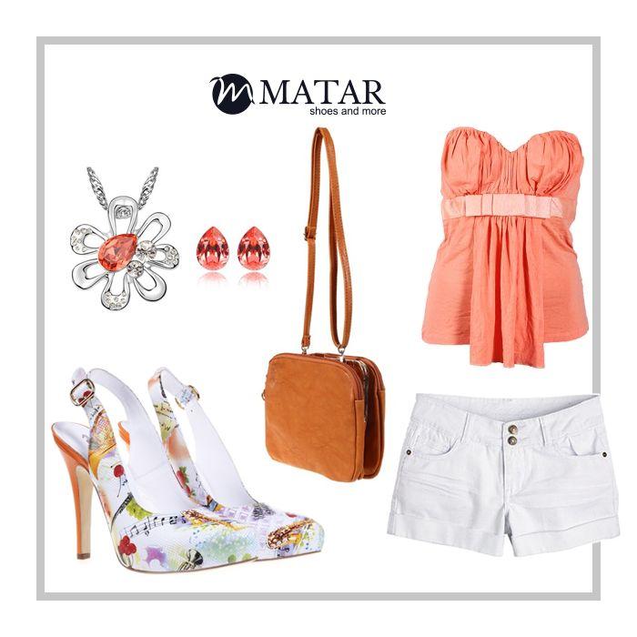 Fii trendy si indrazneata in aceasta vara! Poarta orange cu Matar.ro! Be trendy on this summer, wear orange with Matar.ro!