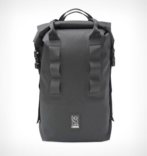 Chrome Urban Ex 18 Rolltop Backpack Black - Rushfaster.com.au Australia