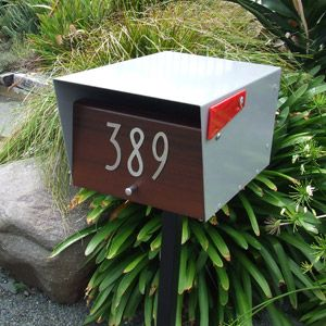 Online Mailboxes and Letterboxes shipped worldwide: NuBox