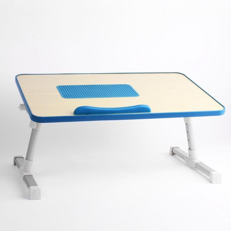 Folding& Adjustable Laptop Table For Travel Equiped With Cooling Fan