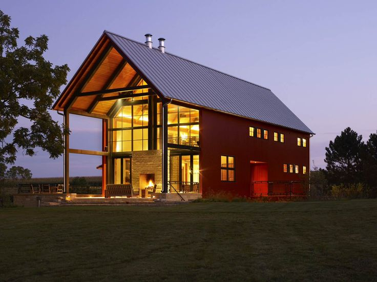 Экстерьер фермерского дома