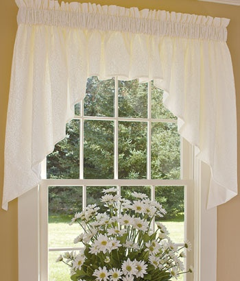 20 best Lace Curtains images on Pinterest   Country curtains ...