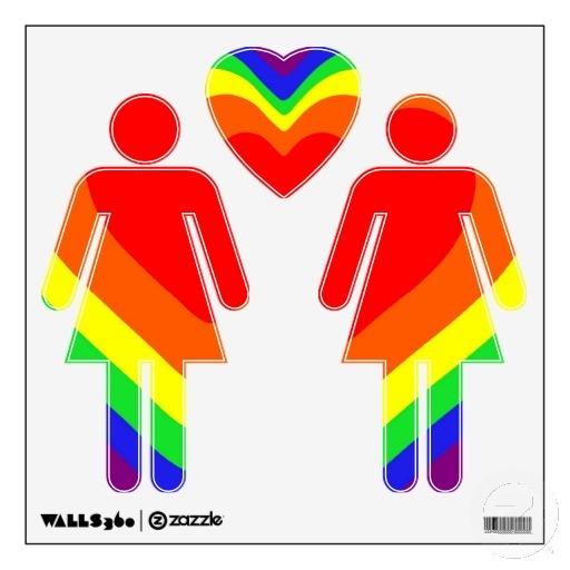 lesbian graphics rainbow