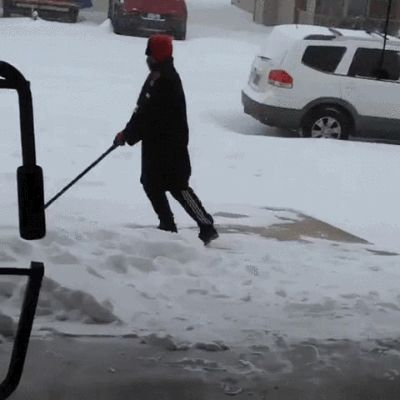 Falling Shoveler.gif- this is like the most hilarious gif I've seen in a while