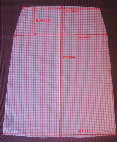 Robe chasuble fillette, Patron couture gratuit