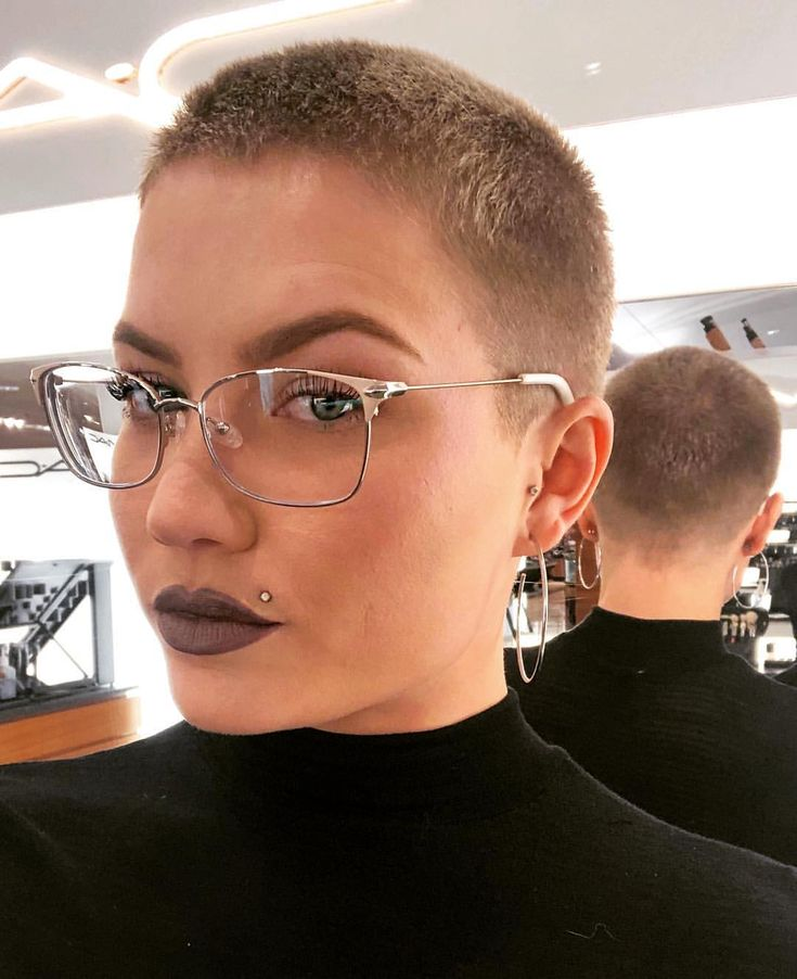6766 best rasierte haare images on pinterest short hairstyle