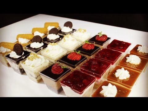 تشيز كيك الكاسات ب ٦ نكهات مختلفة اسهل من السهولة ولا اطيب Youtube Cheesecake Sweets Mini Cheesecake
