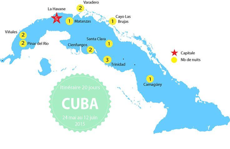 Itinéraire à Cuba - 3 semaines de road trip à Cuba