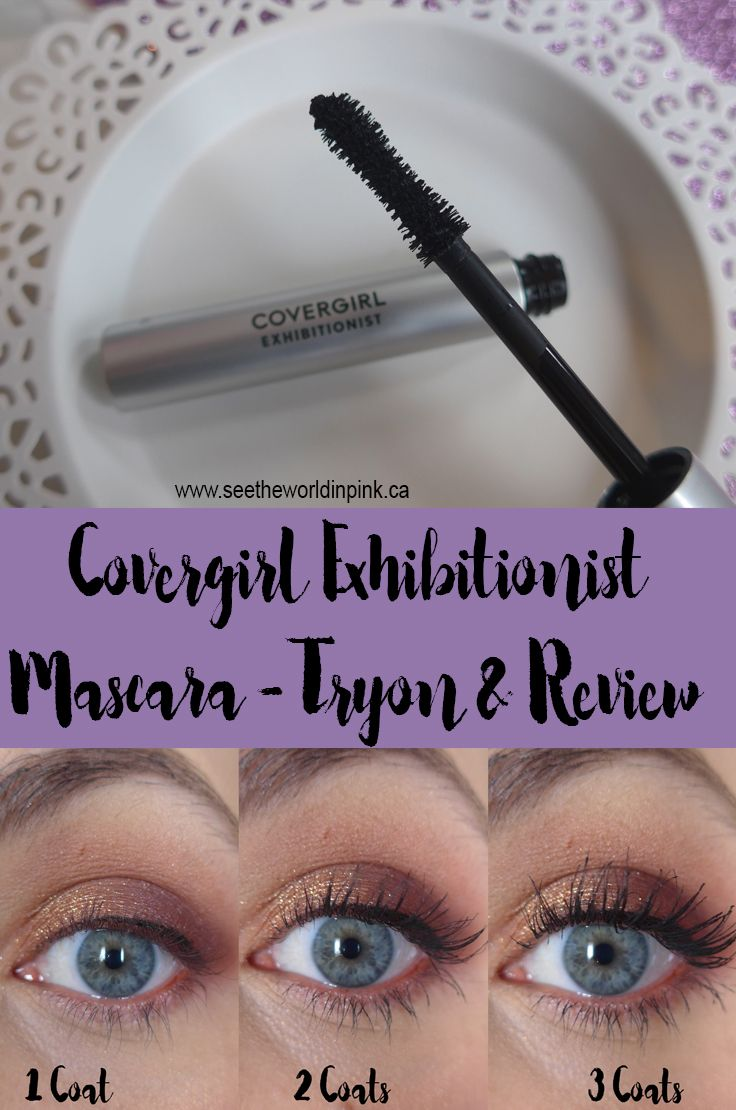 ff4e5d60bb6 Covergirl Exhibitionist Mascara - Tryon and Review   Blog Beauties ...