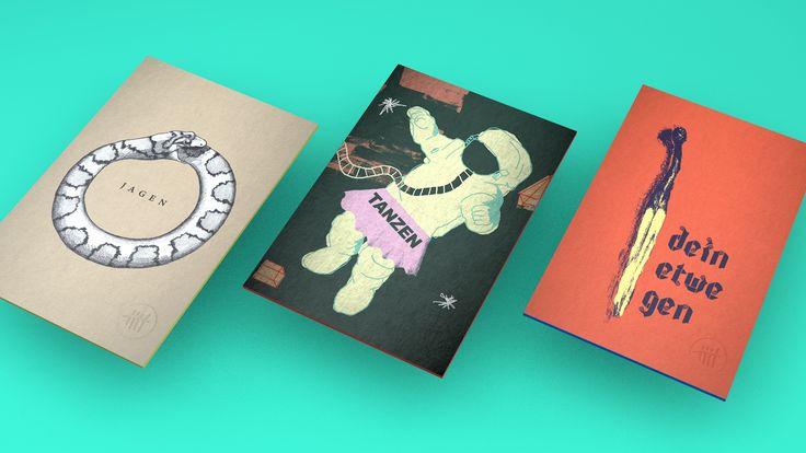 Sie sind dick, farbig und analog: von Künstlern und Designern gestaltete Postkarten. Jeweils ein Wort auf einer Karte. Zusammen bilden die Worte Sätze, die ungewöhnliche Liebeserklärungen machen, zum Geburtstag gratulieren, Fragen stellen oder einfach nur feststellen.