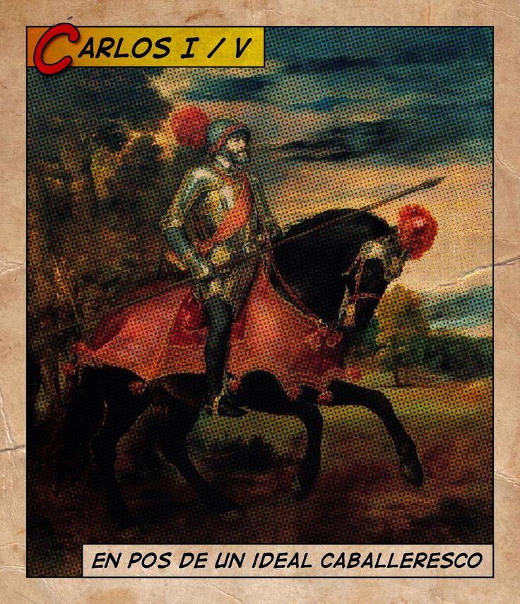 """EL CÉSAR CARLOS QUIJOTE ADELANTADO // Un otro año cumple hoy el natalicio (1500, en la ciudad de Gante) que diese al mundo a ese hombre sorprendente en que encarnó charnela de una época de transición del tardo medioevo a la modernidad renacentista. Puso en sus manos todo el poder el sino: la España unificada, Países Bajos, territorios austriacos, media Italia y """"como guinda"""" el plus de un Nuevo Mundo…—> http://albertotroconiz.blogspot.com.es/2016/02/el-cesar-carlos-quijote-adelantado.html"""