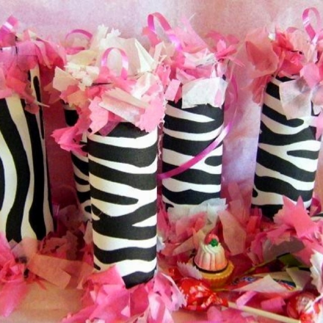 64 best Zebra Print Party images on Pinterest Birthday party