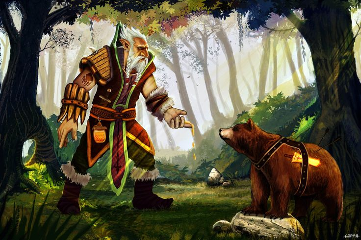 Dota 2 Lone Druid by emrahx